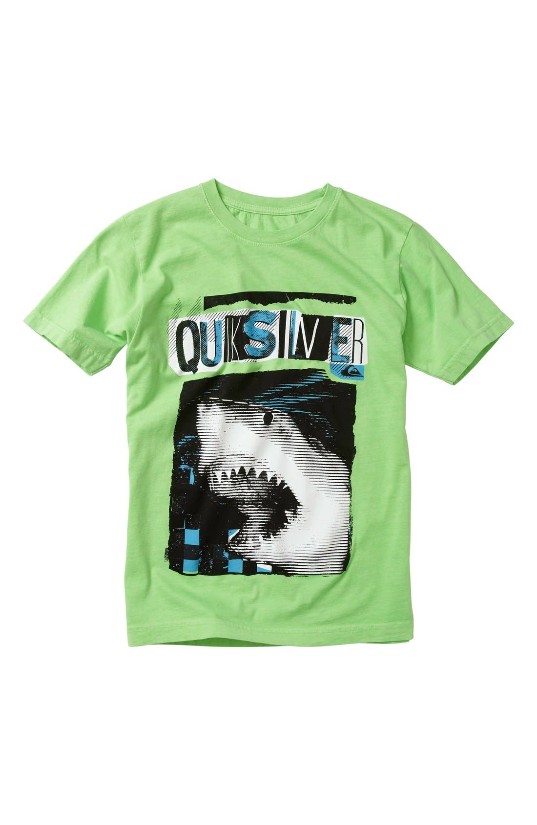 Alternate Image 1 Selected - Quiksilver 'Bitten' Short Sleeve T-Shirt (Little Boys)