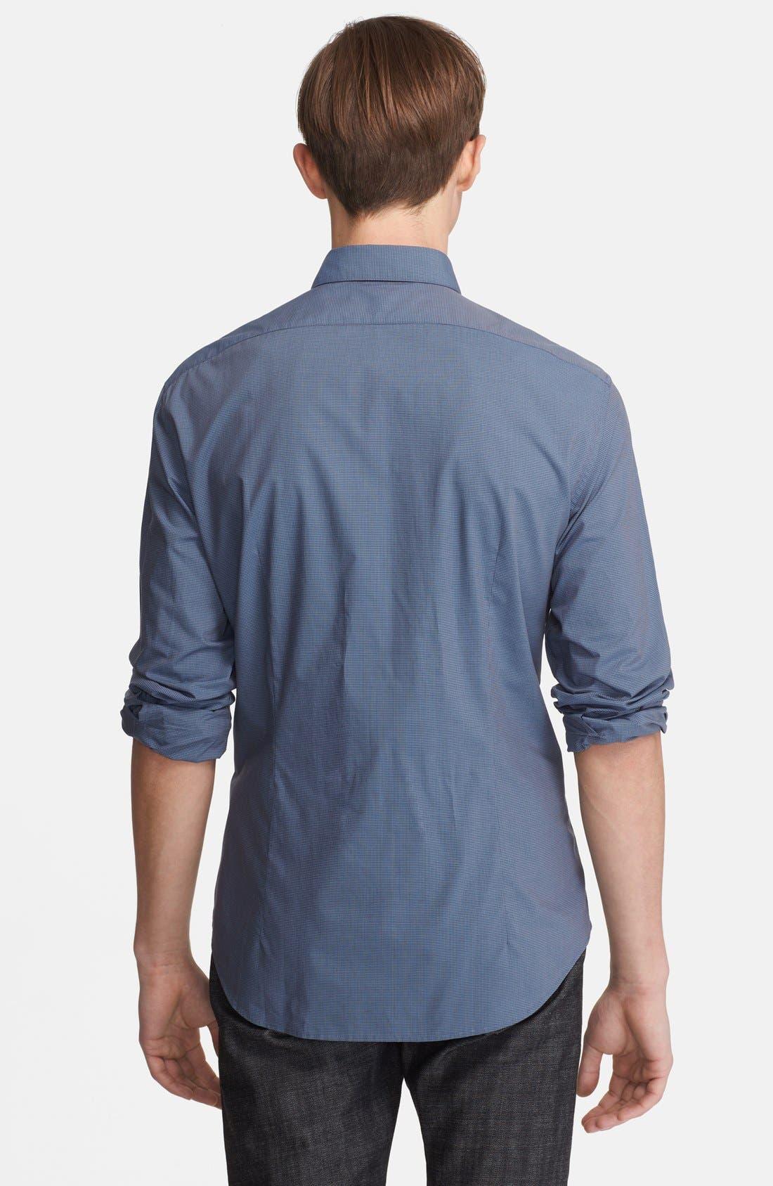 Alternate Image 2  - John Varvatos Collection Slim Fit Check Cotton Shirt