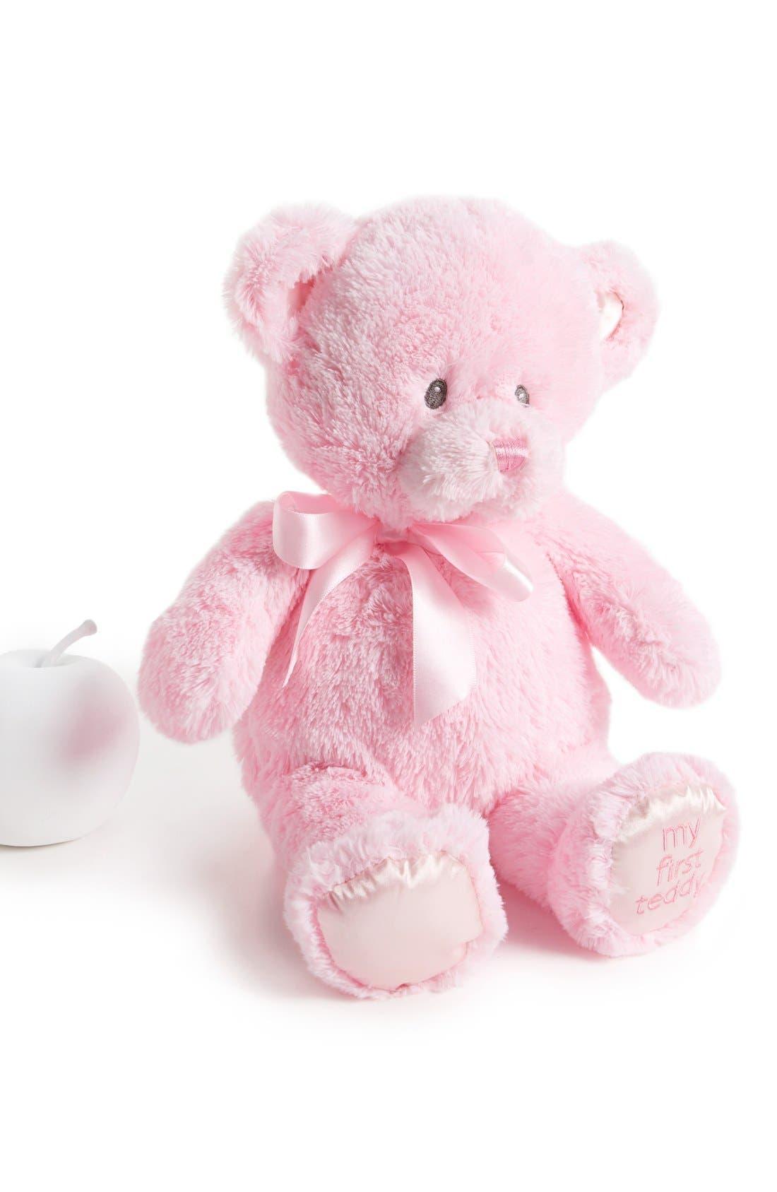Main Image - Baby Gund 'My 1st Teddy' Stuffed Bear