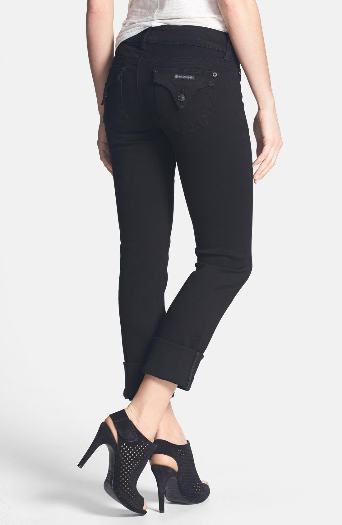 Alternate Image 2  - Hudson Jeans 'Ginny' Crop Straight Leg Jeans