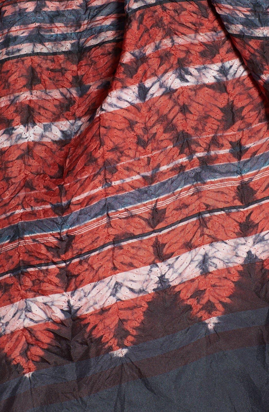 Alternate Image 2  - Eileen Fisher Print Silk Scarf