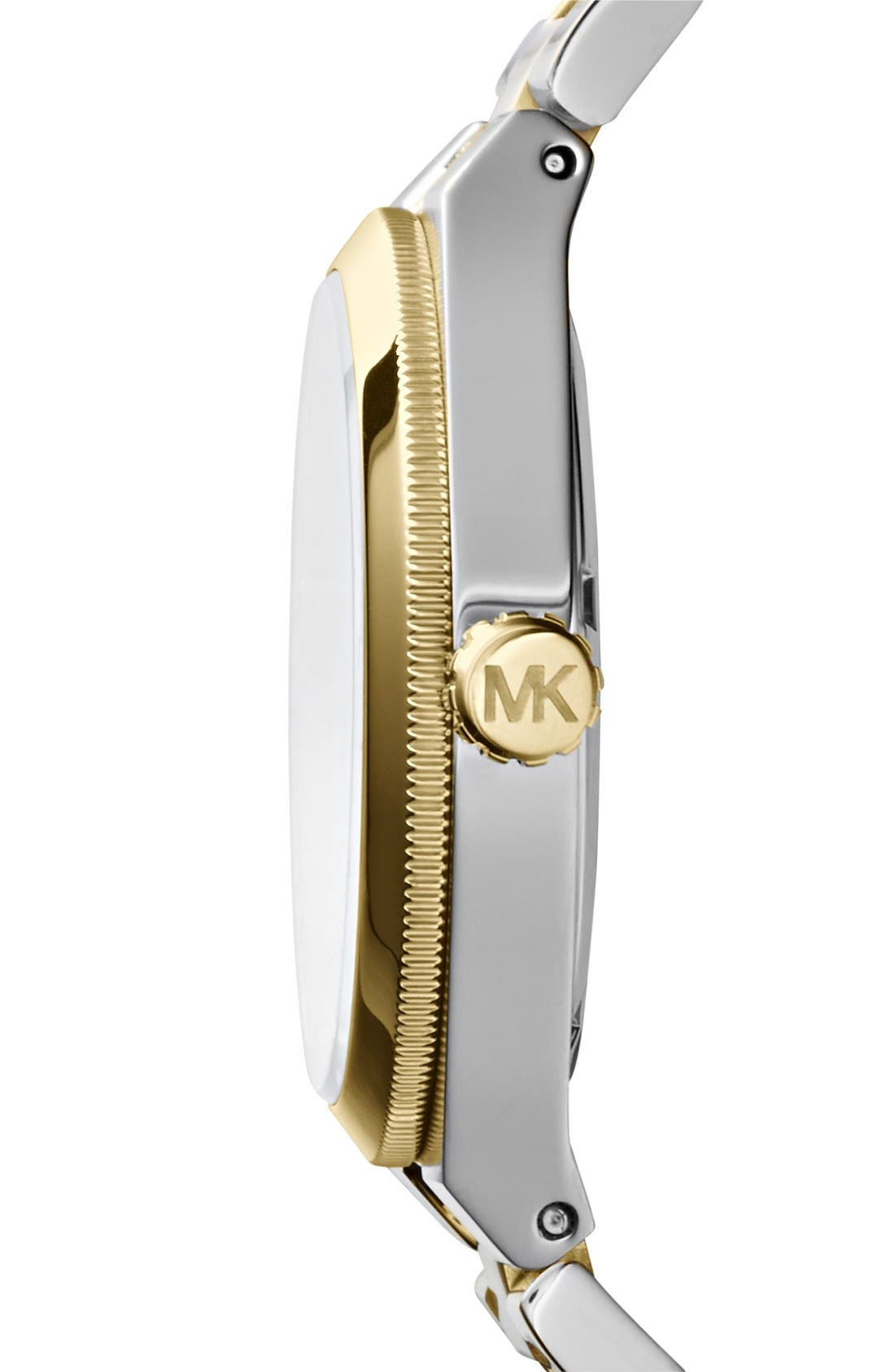 Alternate Image 3  - Michael Kors 'Channing' Lapis Dial Bracelet Watch, 38mm