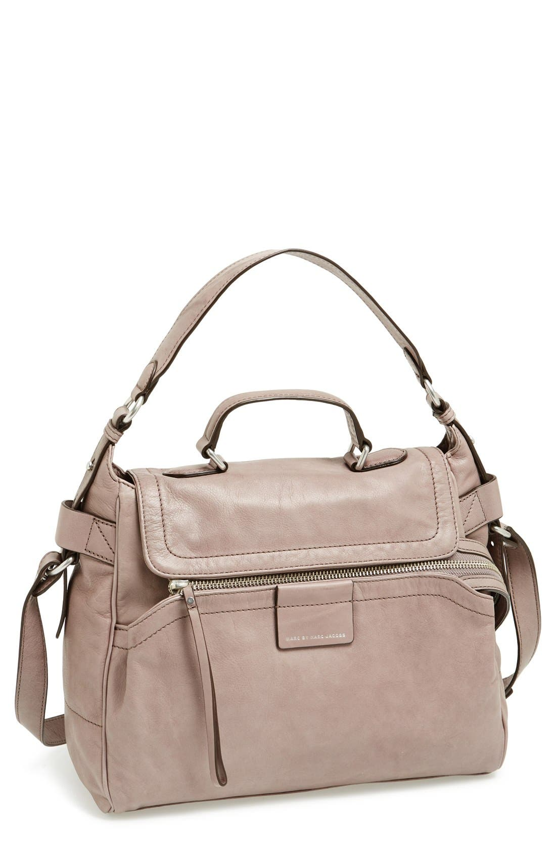 Alternate Image 1 Selected - MARC BY MARC JACOBS Moto Satchel