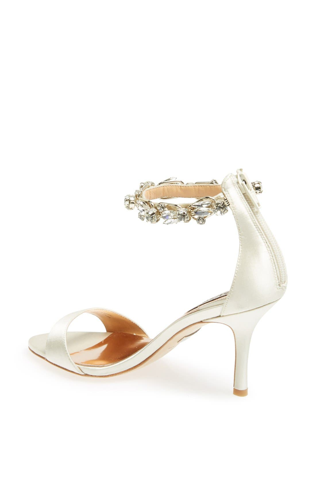 Alternate Image 2  - Badgley Mischka 'Klark' Satin Sandal