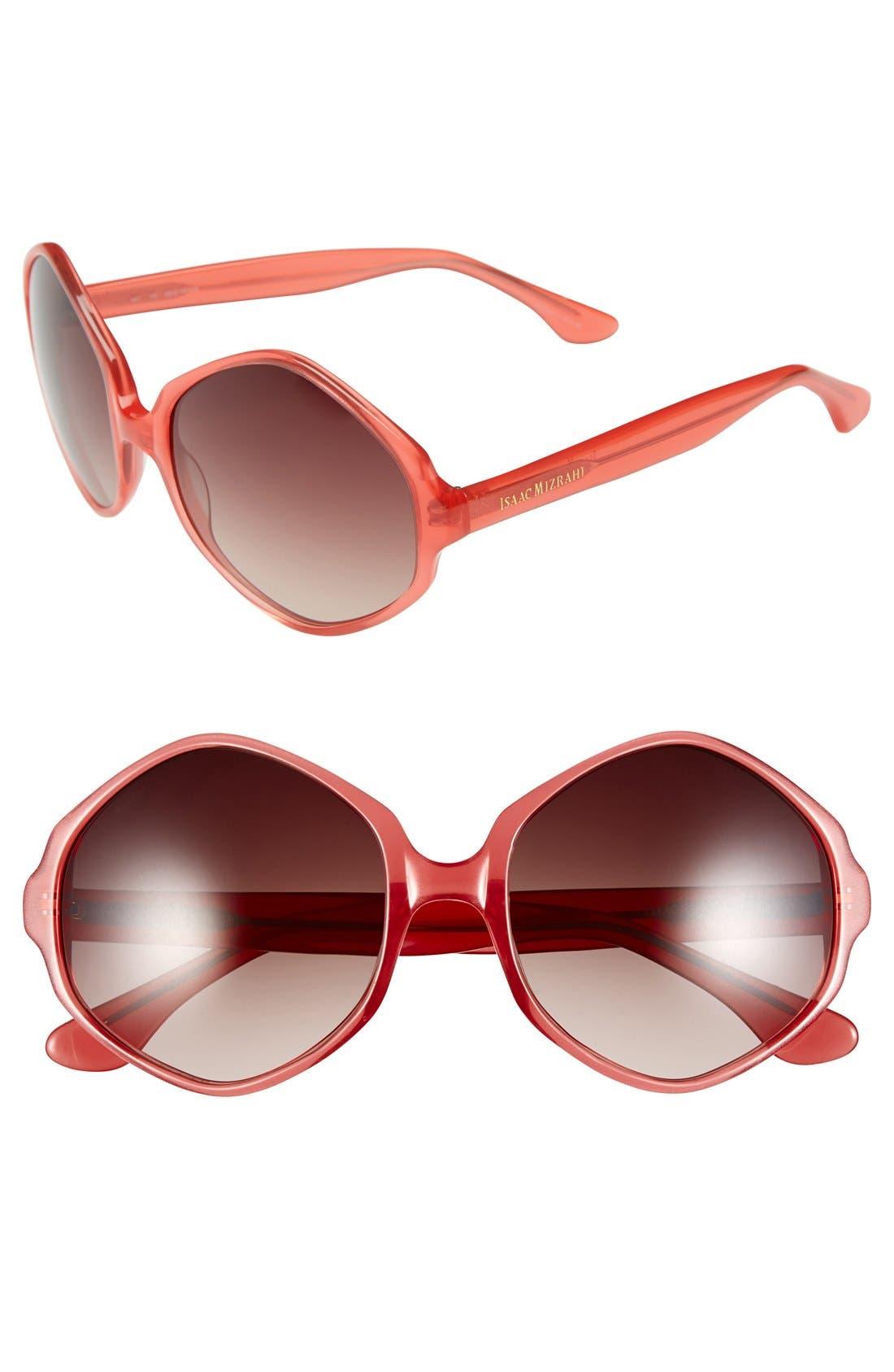 Main Image - Isaac Mizrahi New York 55mm Sunglasses