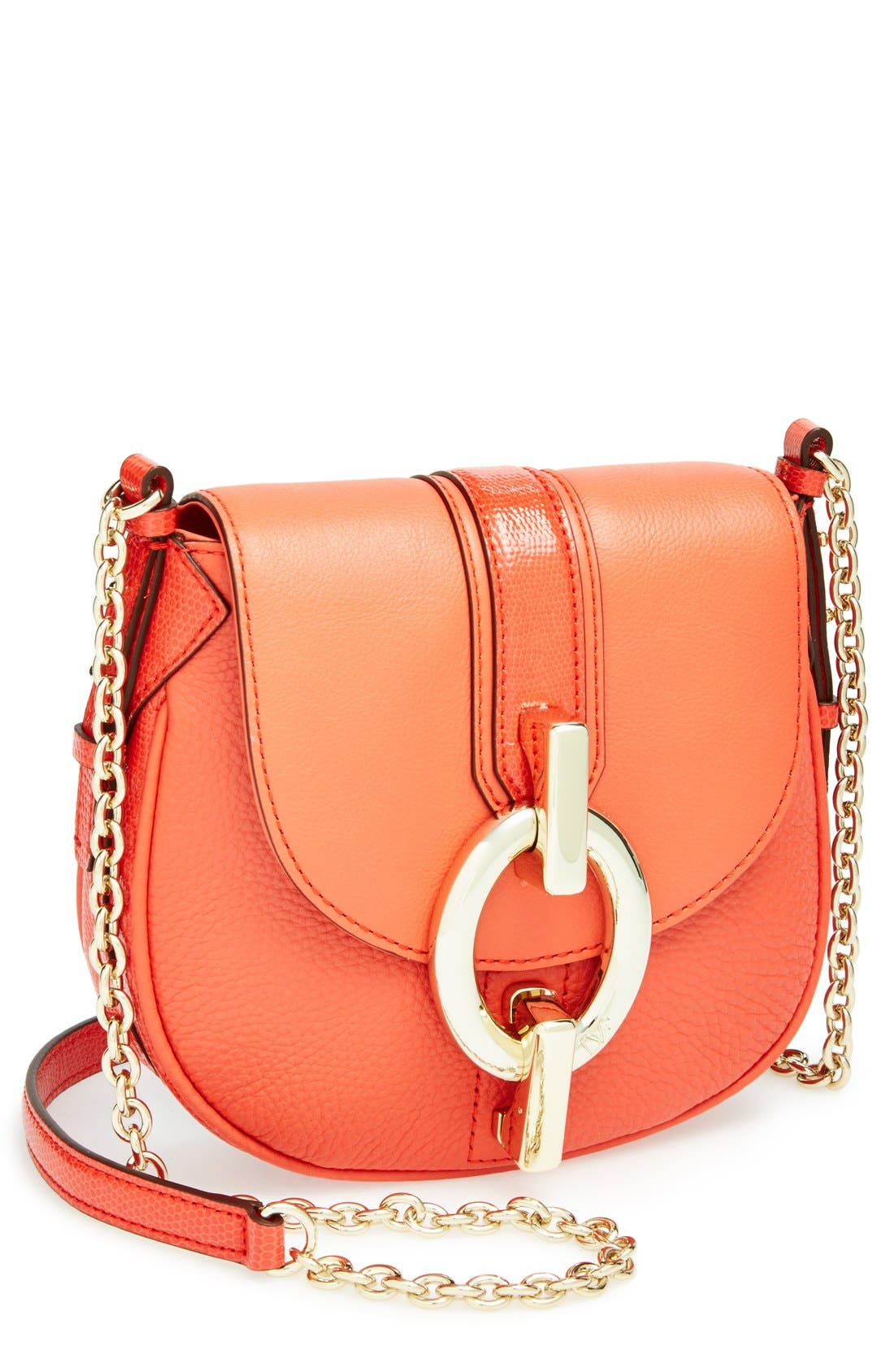 Alternate Image 1 Selected - Diane von Furstenberg 'Sutra - Mini' Leather Crossbody Bag