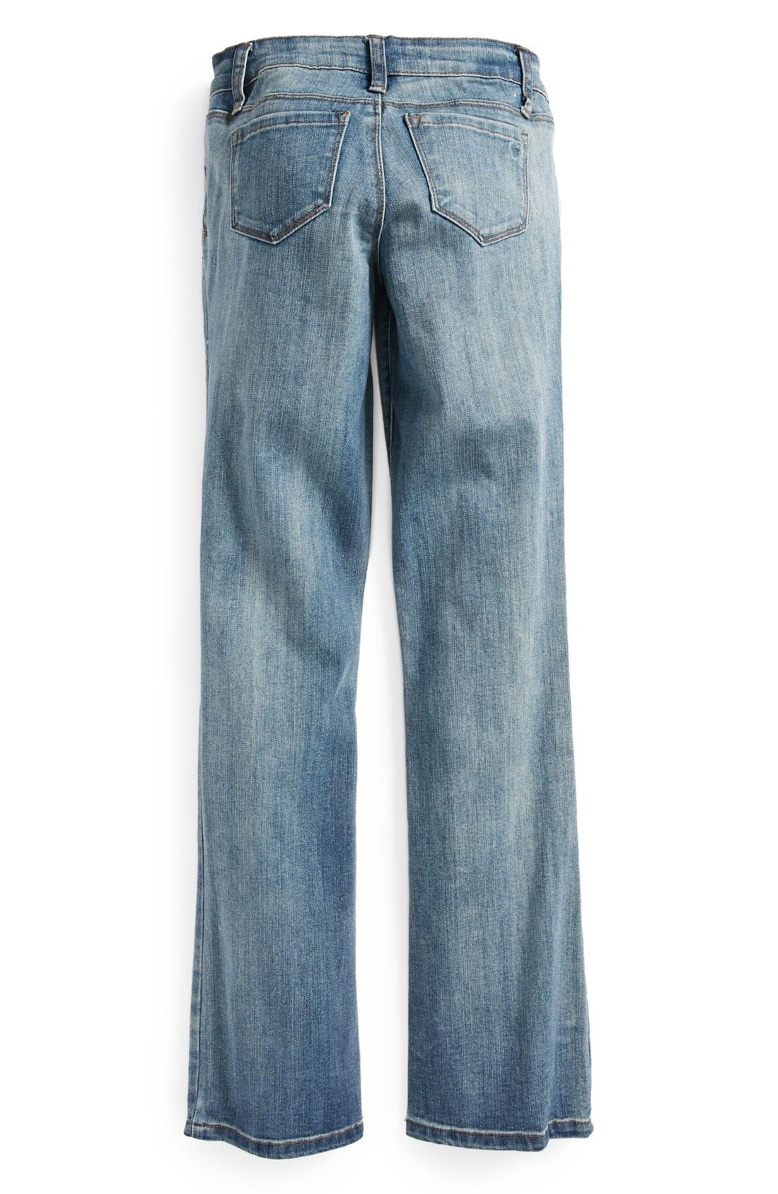 Alternate Image 1 Selected - Tractr Bootcut Jeans (Big Girls)