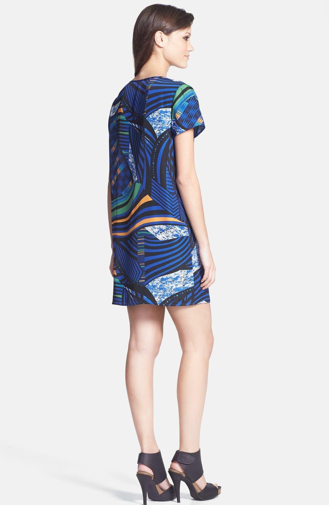 Alternate Image 2  - Tildon Woven T-Shirt Dress