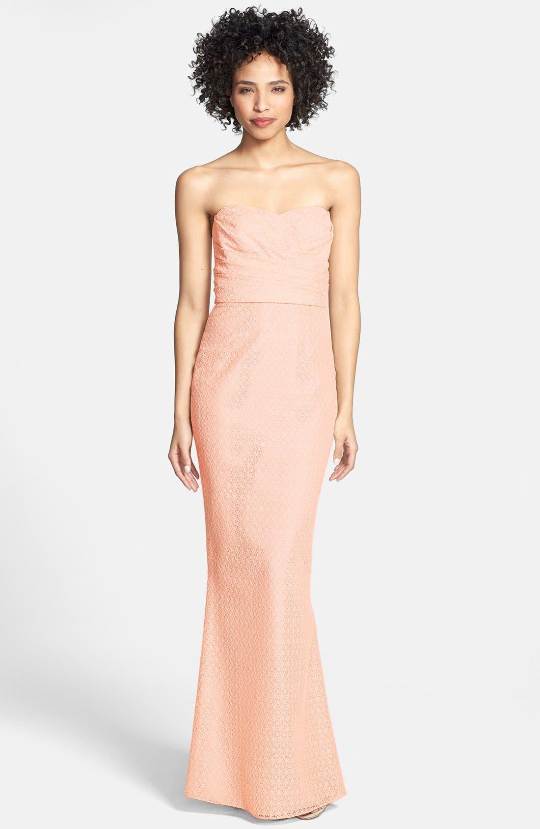 Alternate Image 1 Selected - Jill Jill Stuart Lace Column Dress