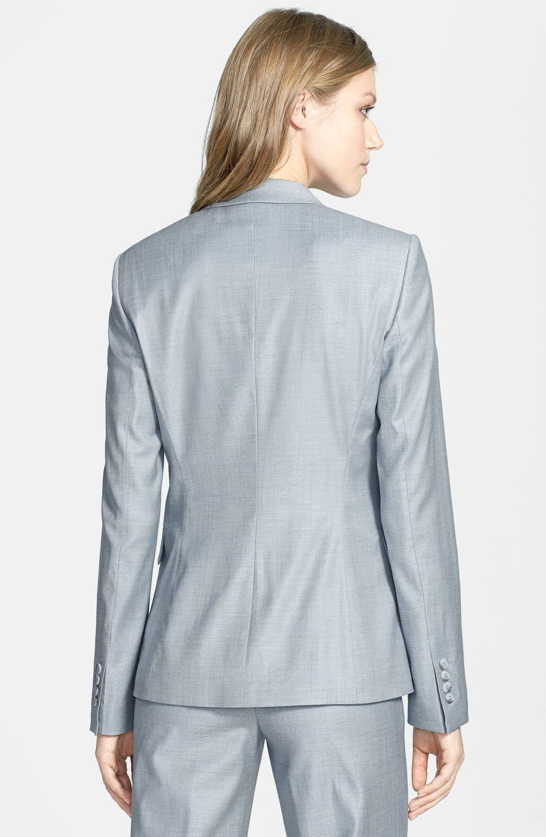 Alternate Image 2  - BOSS HUGO BOSS 'Juicy 6' Stretch Wool Jacket