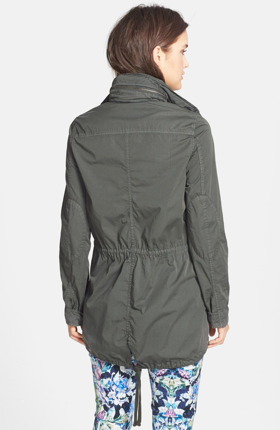Utility Jacket,                             Alternate thumbnail 2, color,                             Forest Green