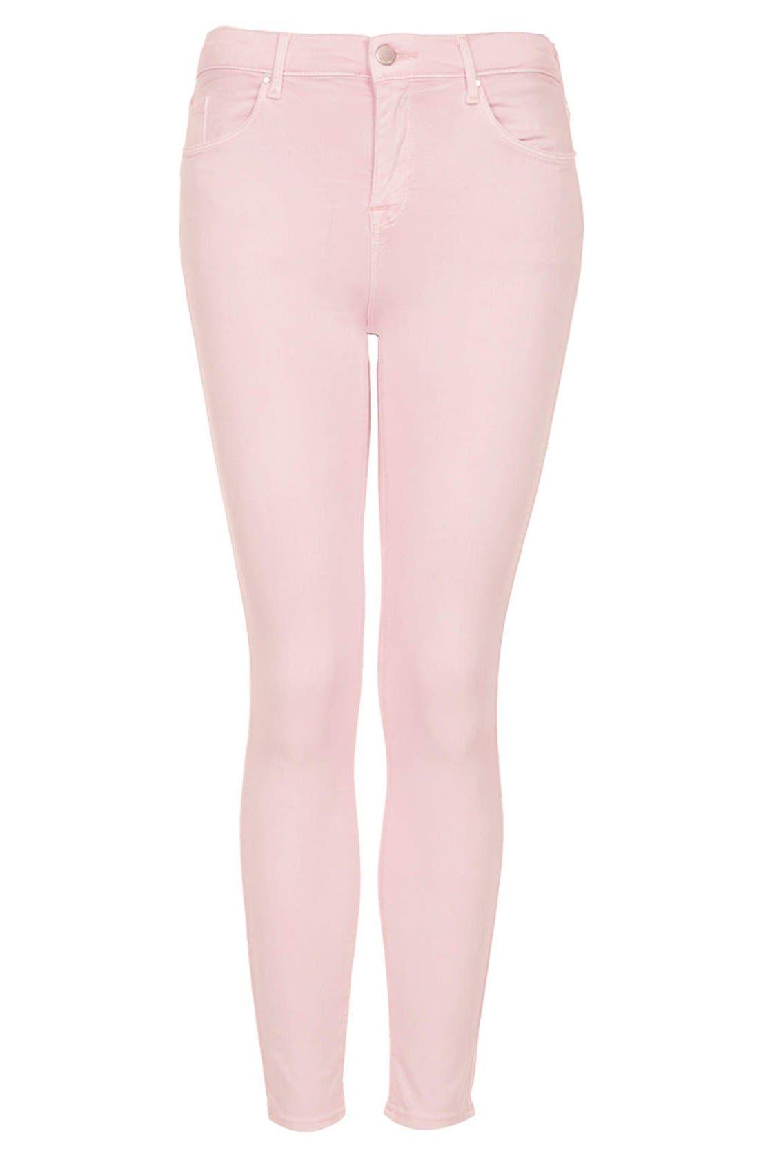 Alternate Image 3  - Topshop Moto 'Leigh' Skinny Jeans (Regular, Short & Long)