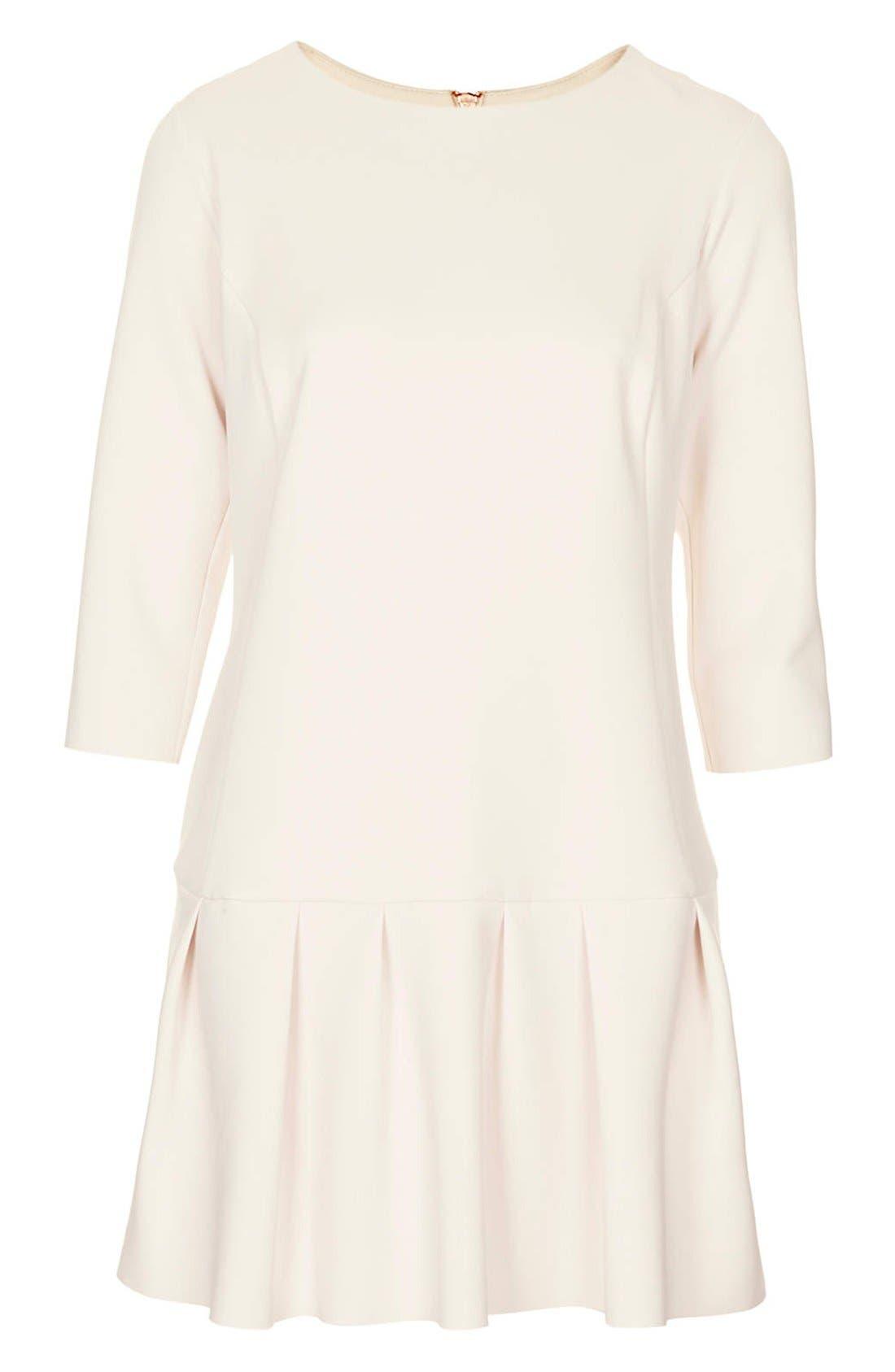 Alternate Image 3  - Topshop Drop Waist Scuba Dress