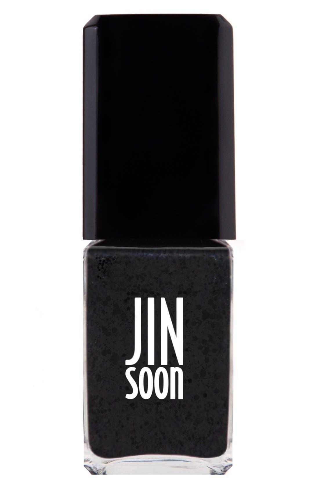 JINsoon 'Polka Black' Nail Lacquer