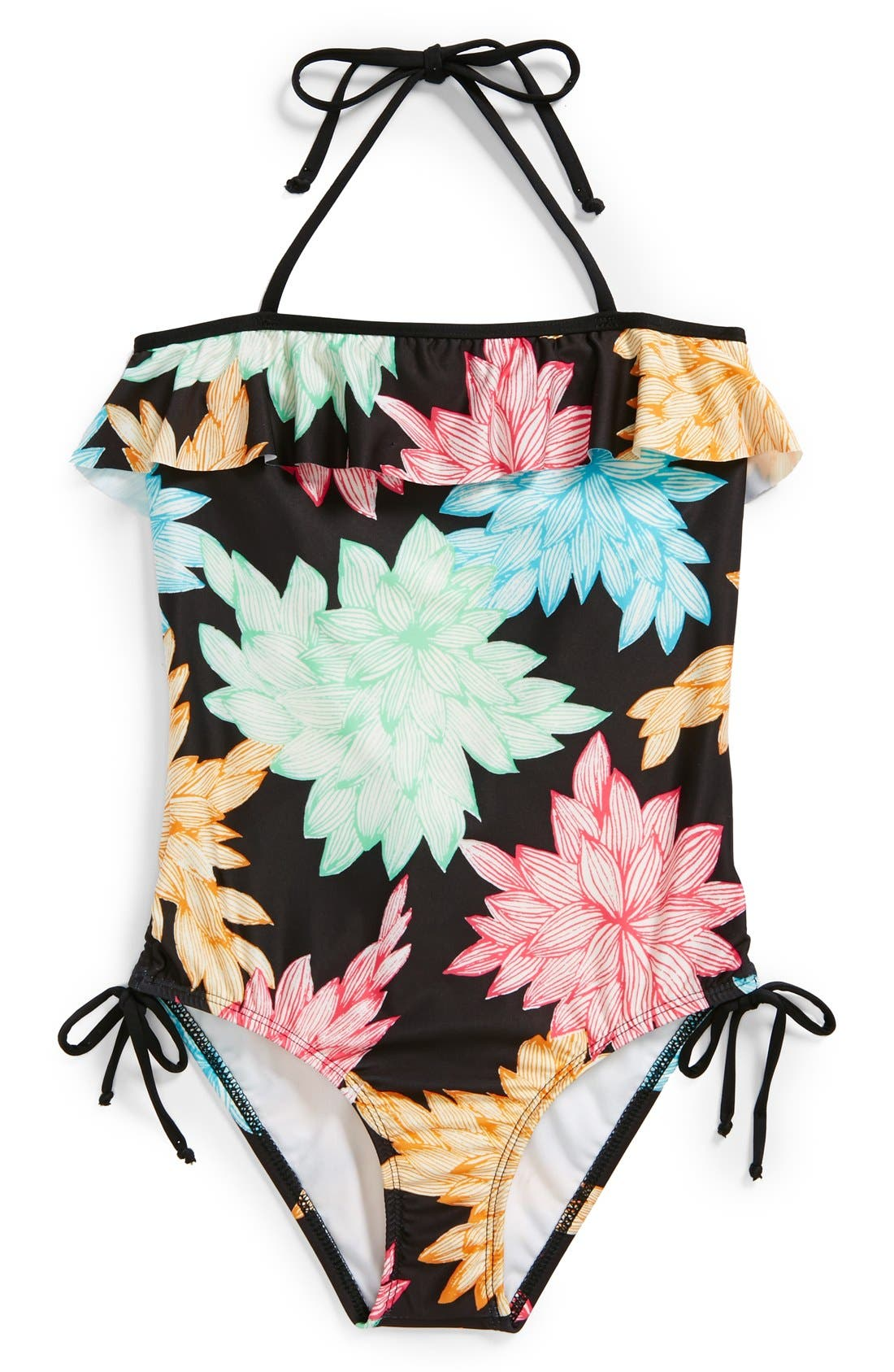 Alternate Image 1 Selected - Ella Moss 'Belle' One-Piece Swimsuit (Big Girls)