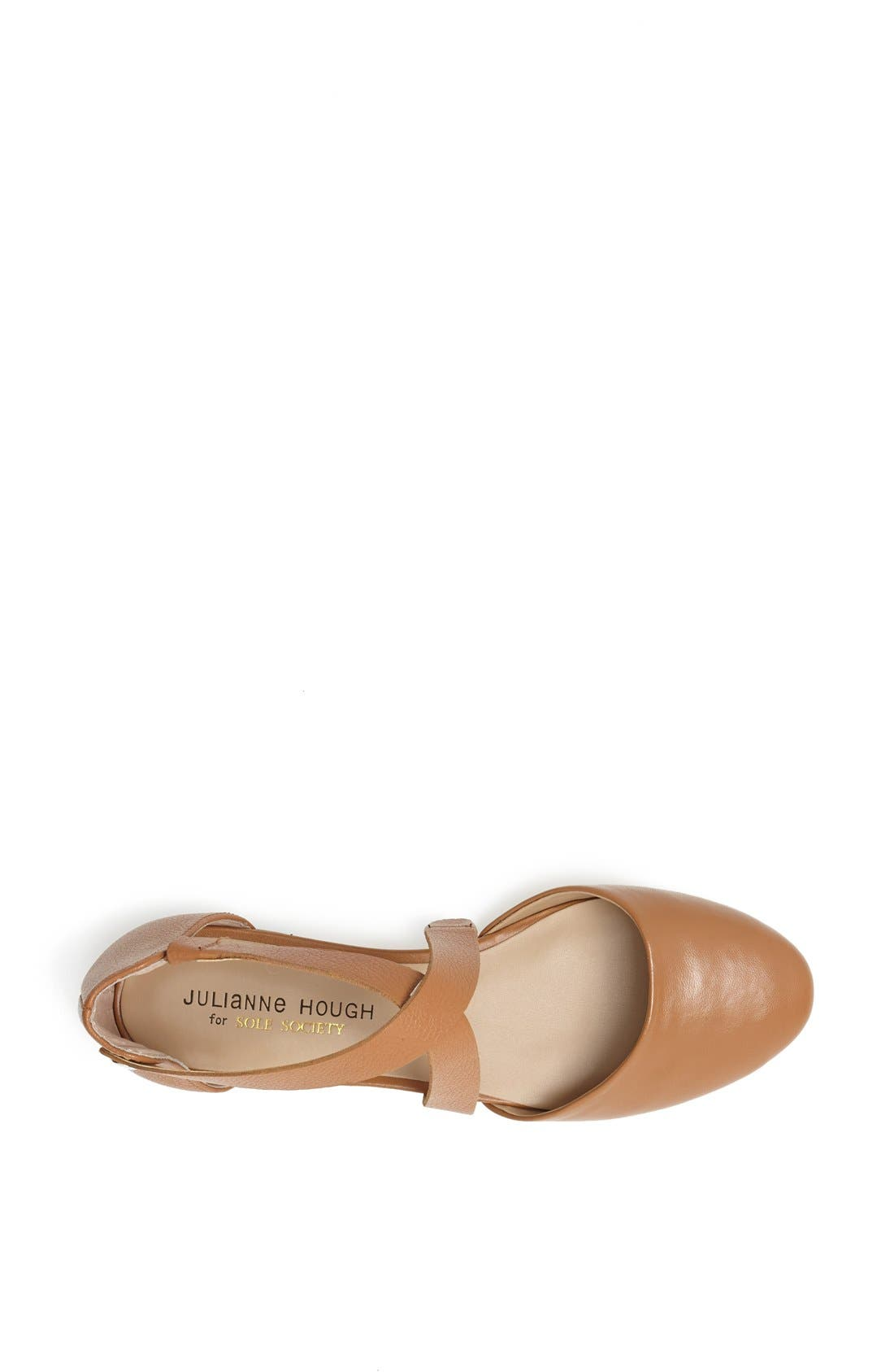 Alternate Image 3  - Julianne Hough for Sole Society 'Ananda' Leather Flat