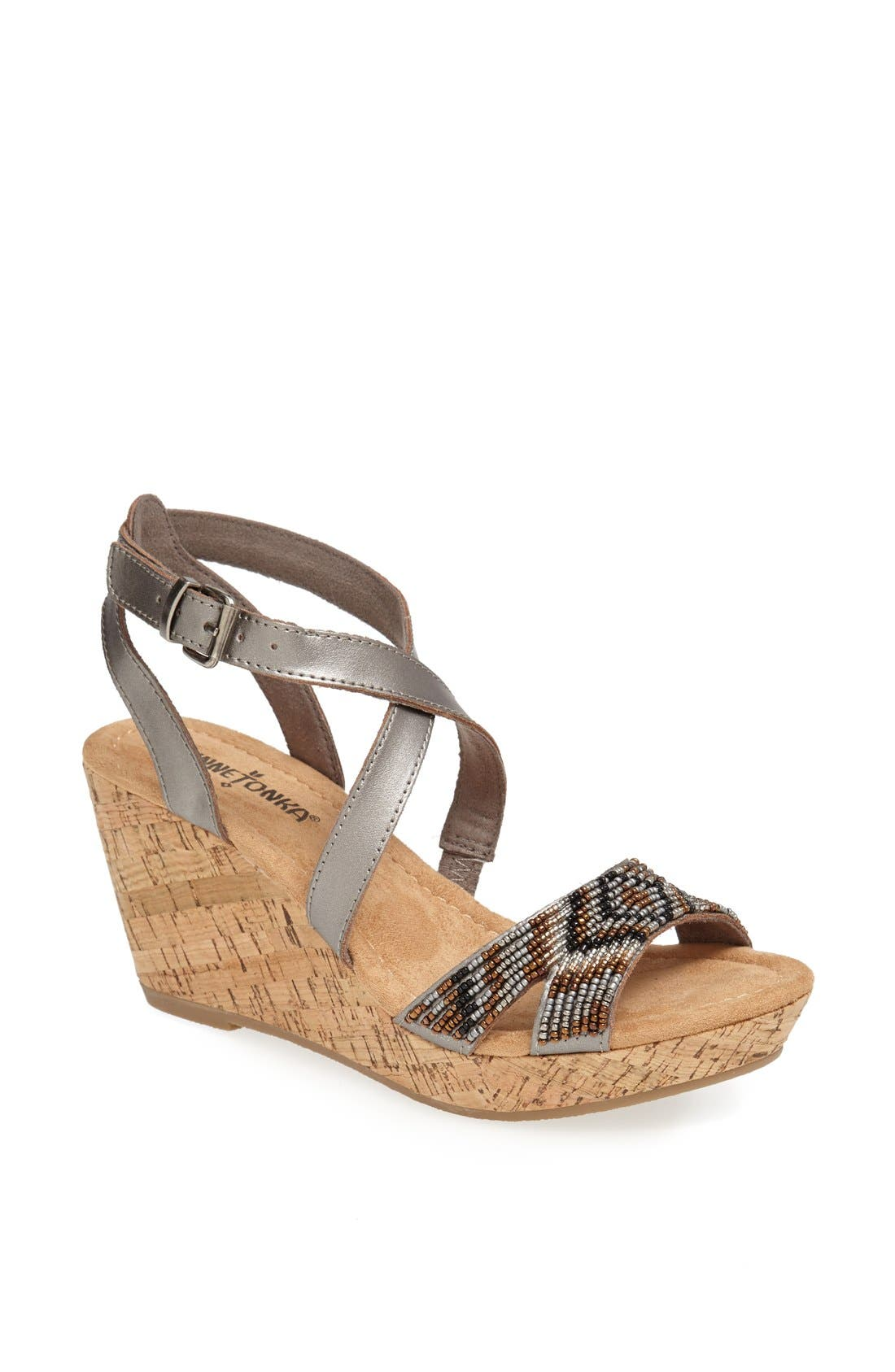 Alternate Image 1 Selected - Minnetonka 'Zoey' Sandal