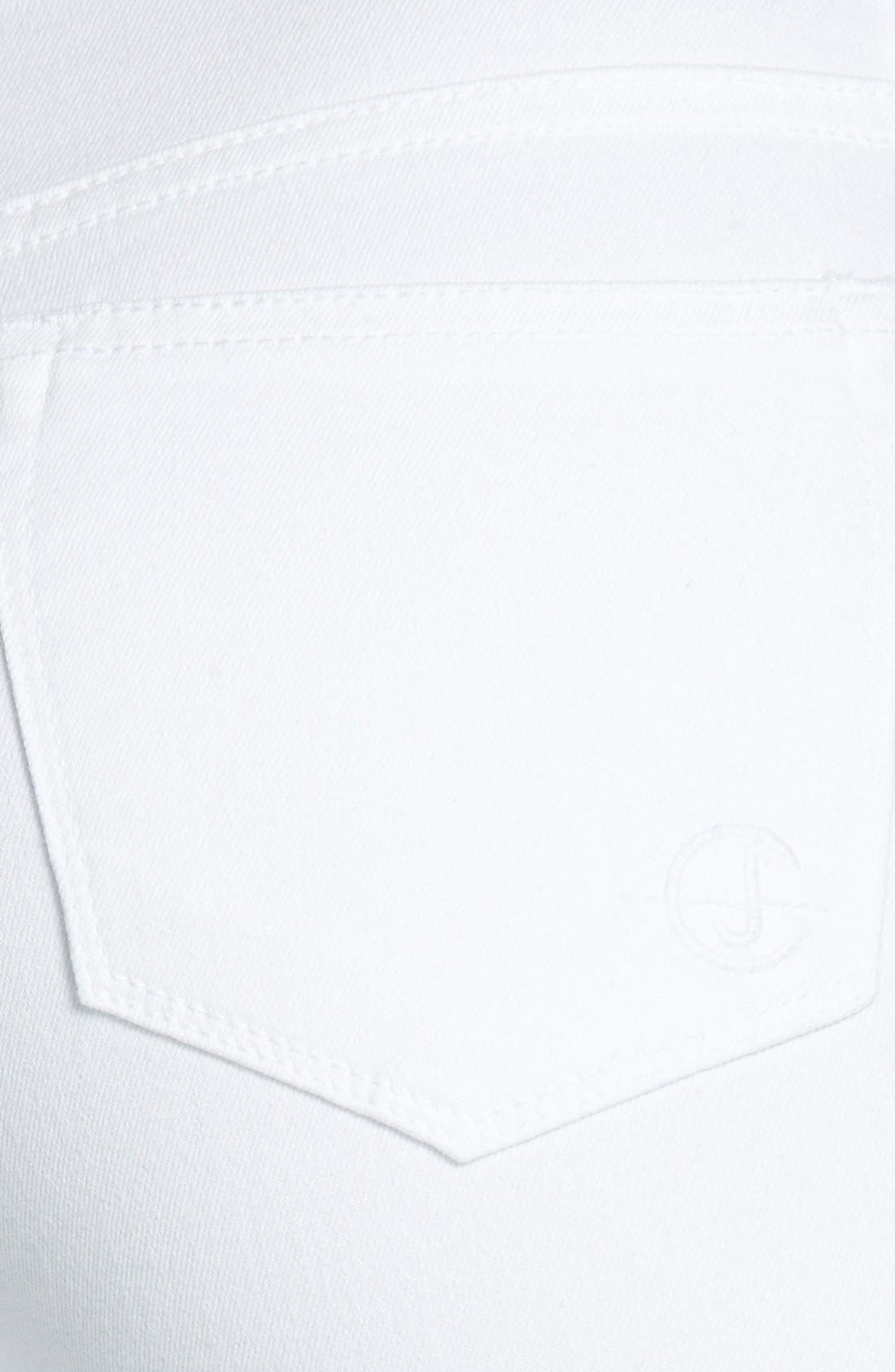 Alternate Image 3  - CJ by Cookie Johnson 'Wisdom' Eyelet Detail Ankle Skinny Jeans (Optic White)