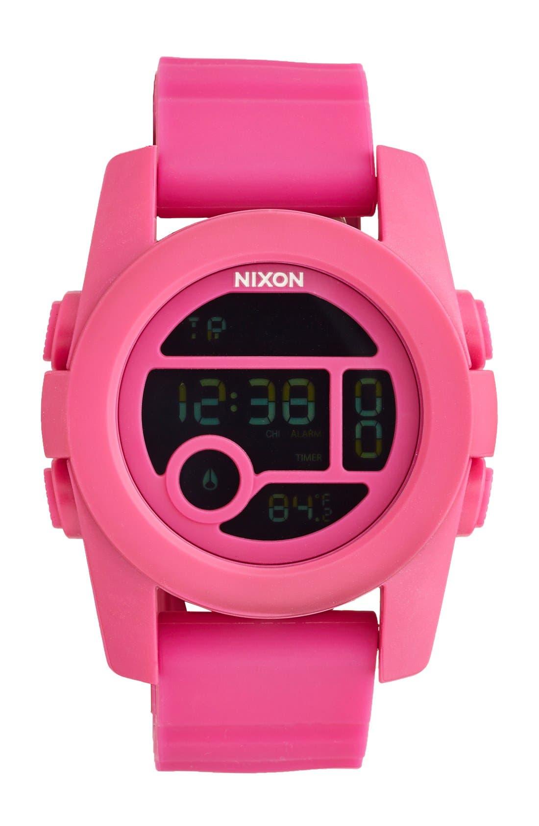 NIXON The Unit 40 Round Digital Watch, 40mm