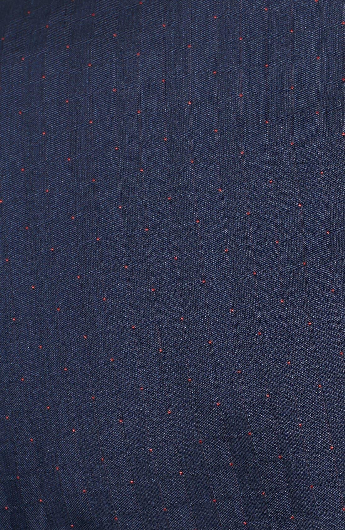 Alternate Image 5  - Paul Smith London 'Kensington' Dot Check Linen Blend Suit
