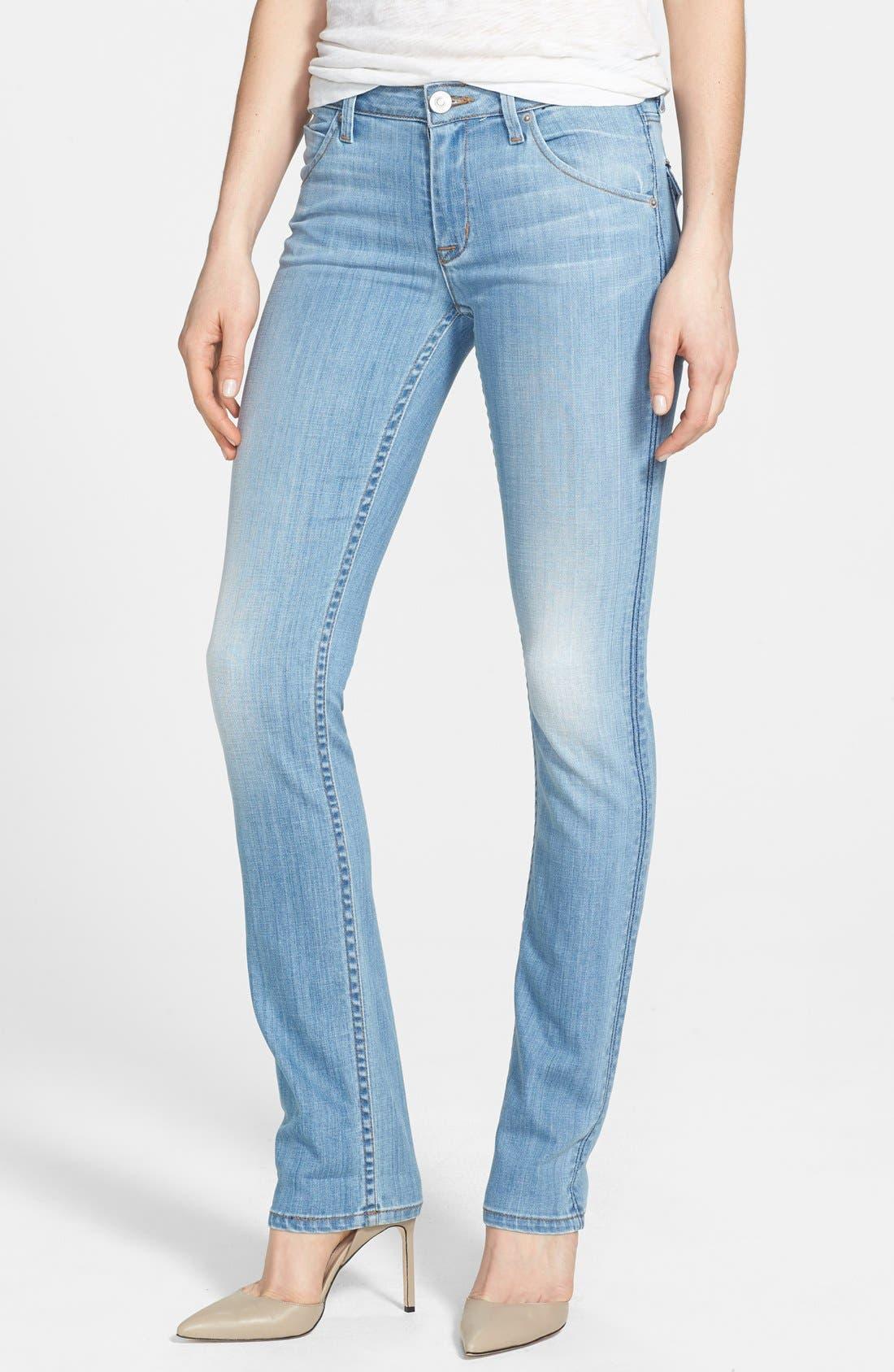 Alternate Image 1 Selected - Hudson Jeans 'Carly' Straight Leg Jeans (I Got Soul)