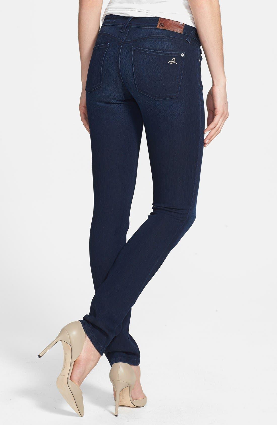 Alternate Image 2  - DL1961 'Cindy' Slim Boot Jeans (Wooster)