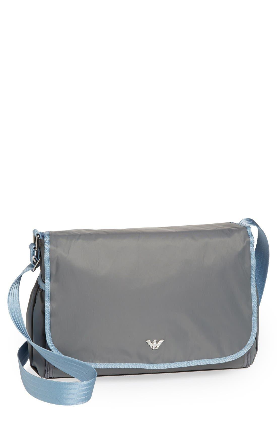 Main Image - Armani Junior Nylon Diaper Bag
