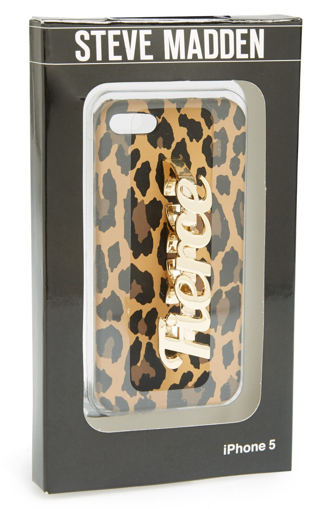 Alternate Image 5  - Steve Madden 'Fierce' iPhone 5 & 5s Case