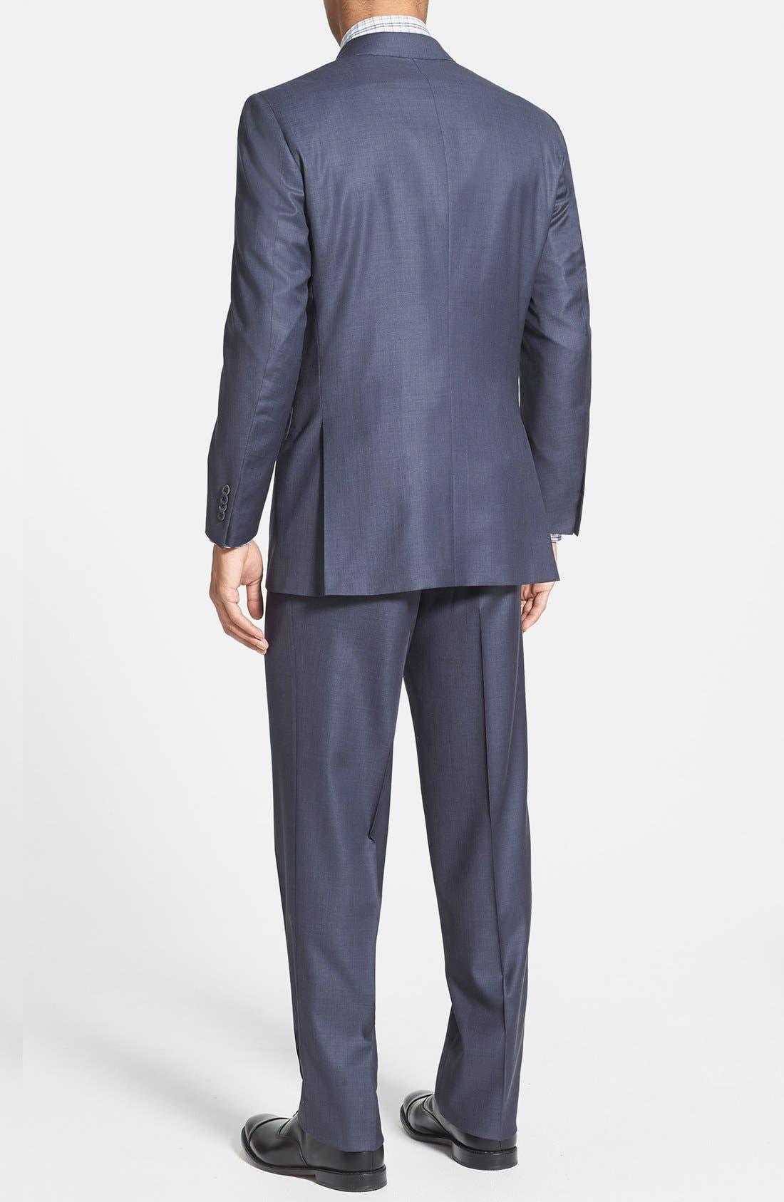 Alternate Image 2  - Peter Millar Classic Fit Wool Suit
