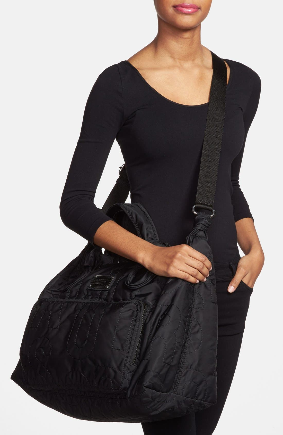 Alternate Image 2  - MARC BY MARC JACOBS 'Preppy Nylon' Bag (18 Inch)