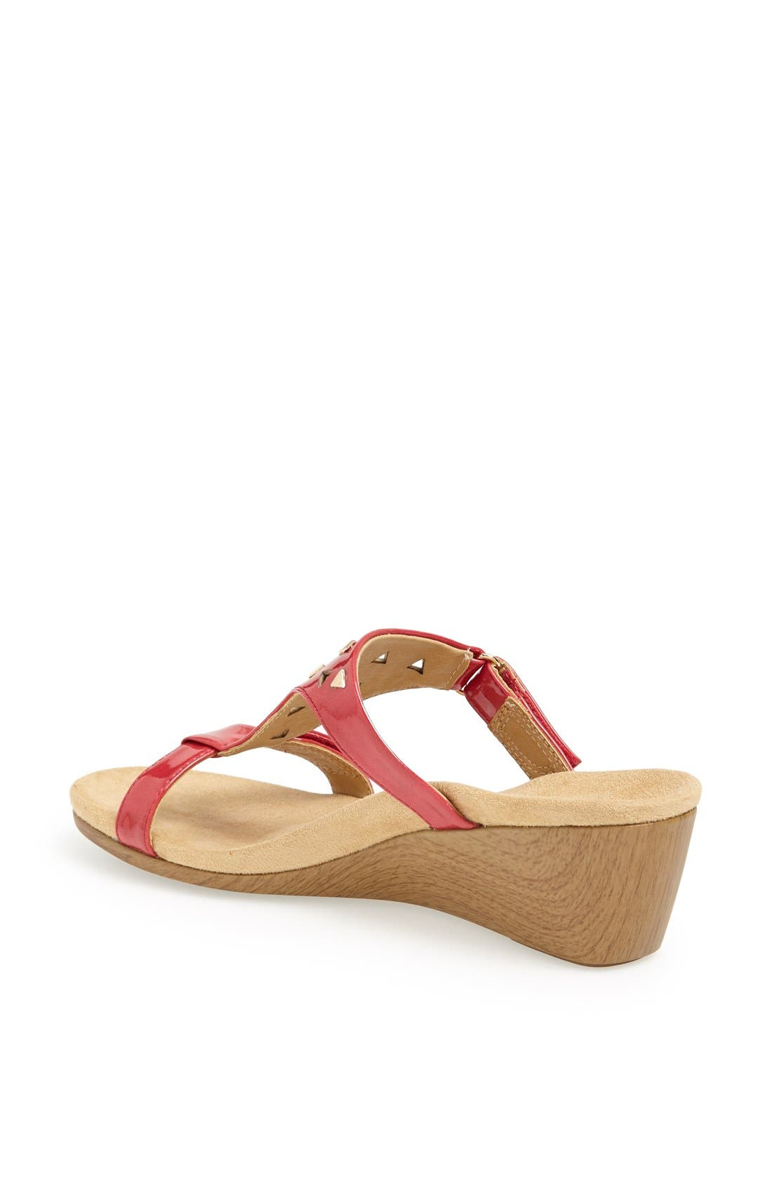 Alternate Image 2  - Vionic 'Maggie' Geometric Cutout Wedge Sandal