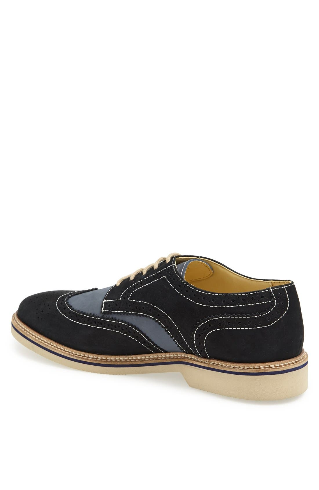 Alternate Image 2  - 1901 'Wing It' Suede Oxford (Men)