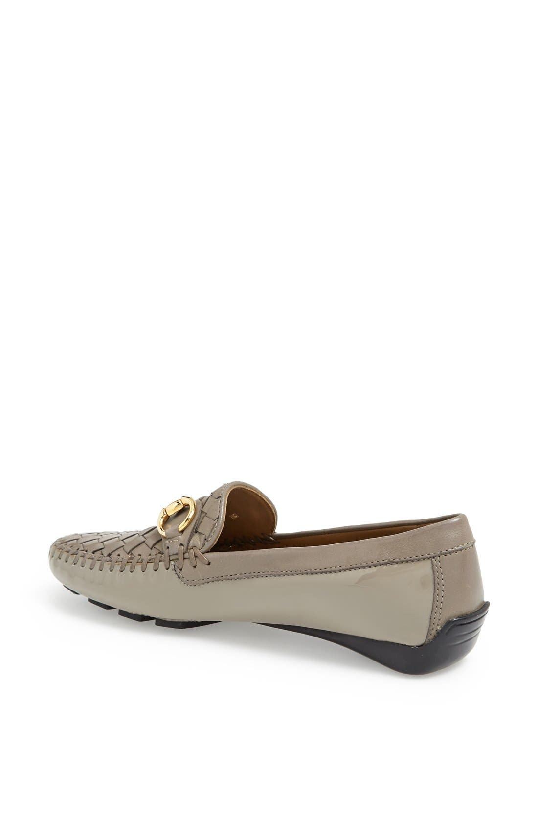 'Perlata' Loafer,                             Alternate thumbnail 2, color,                             Taupe Patent