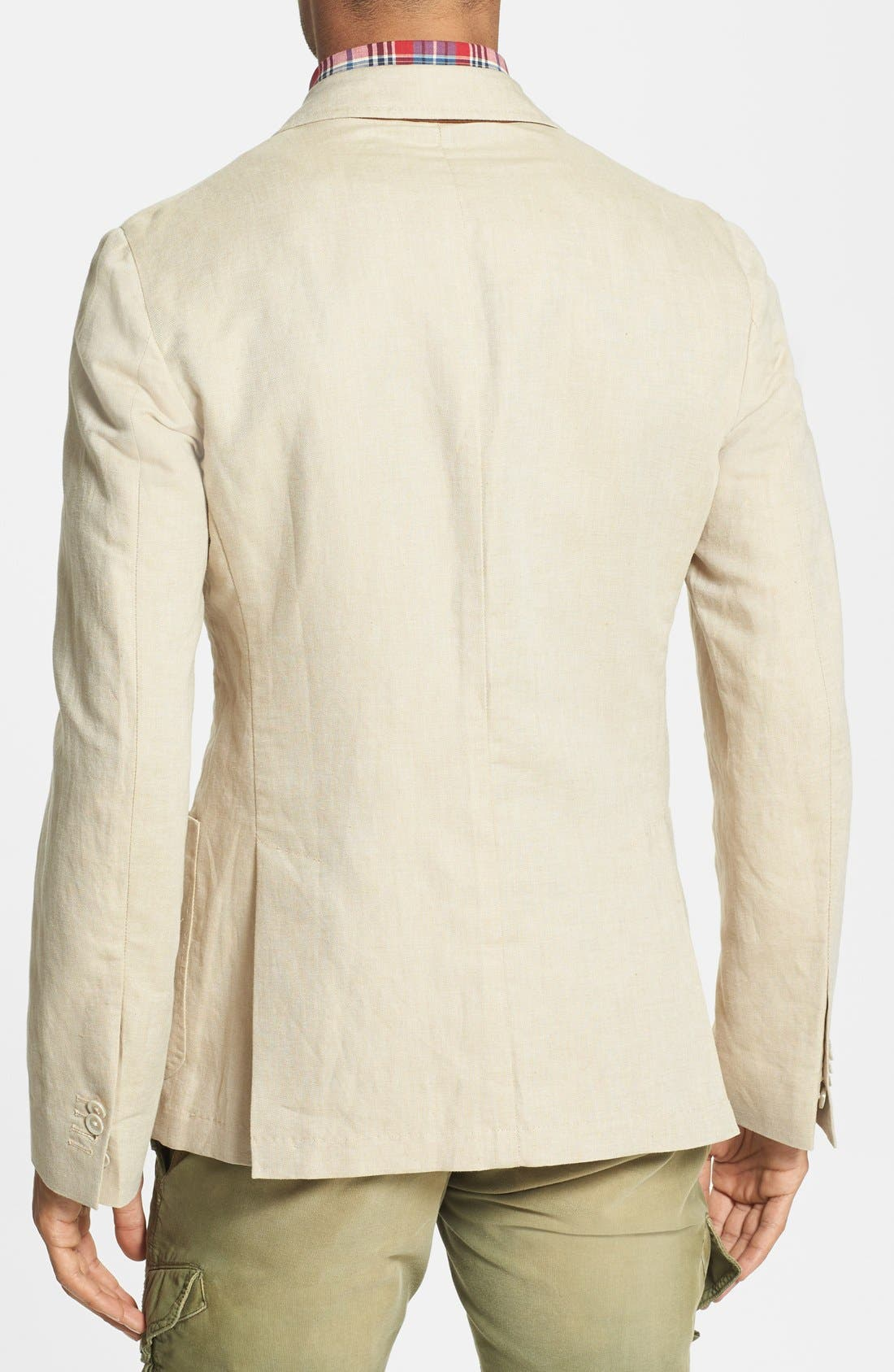 Alternate Image 2  - Gant 'Fresco' Regular Fit Linen Blend Blazer