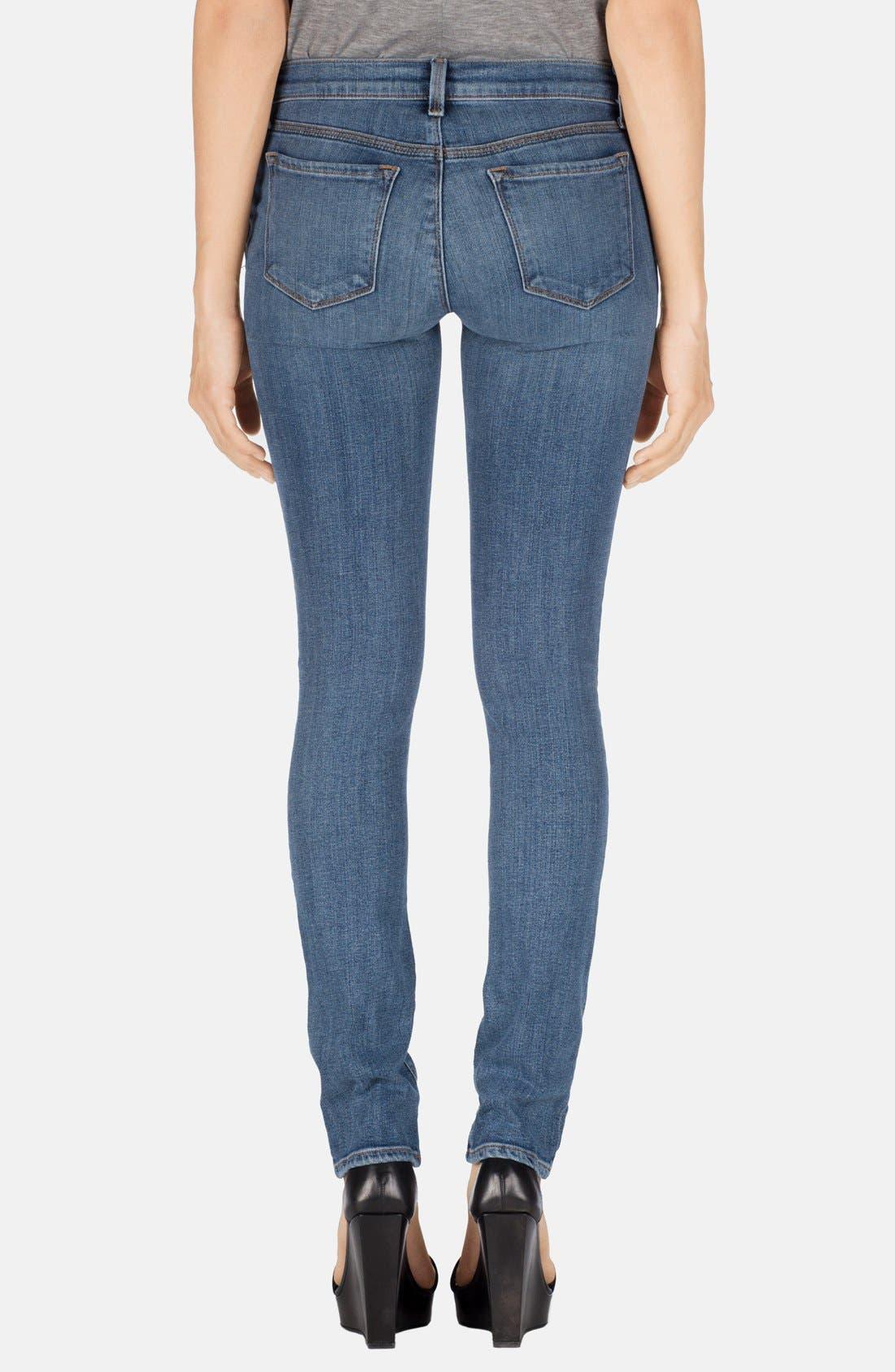 Alternate Image 2  - J Brand 'Rail' Mid Rise Straight Leg Jeans (Tone)