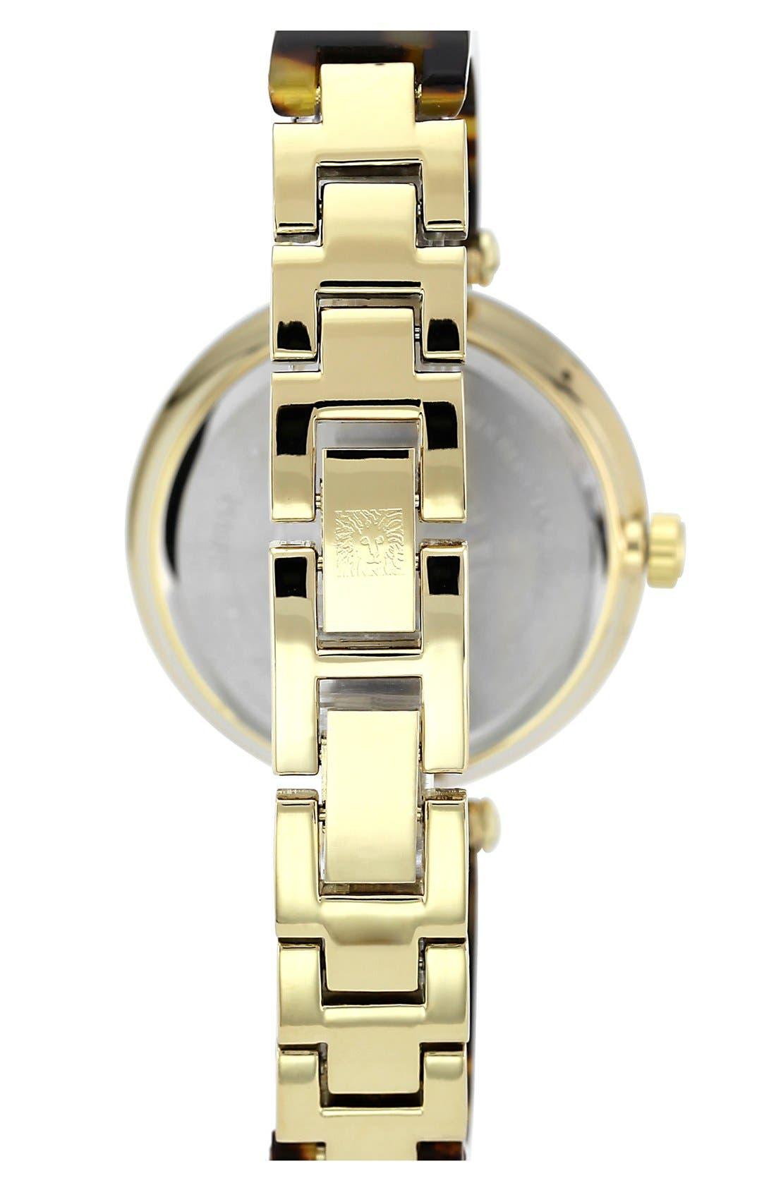 Alternate Image 2  - Anne Klein Round Skinny Bangle Watch, 33mm