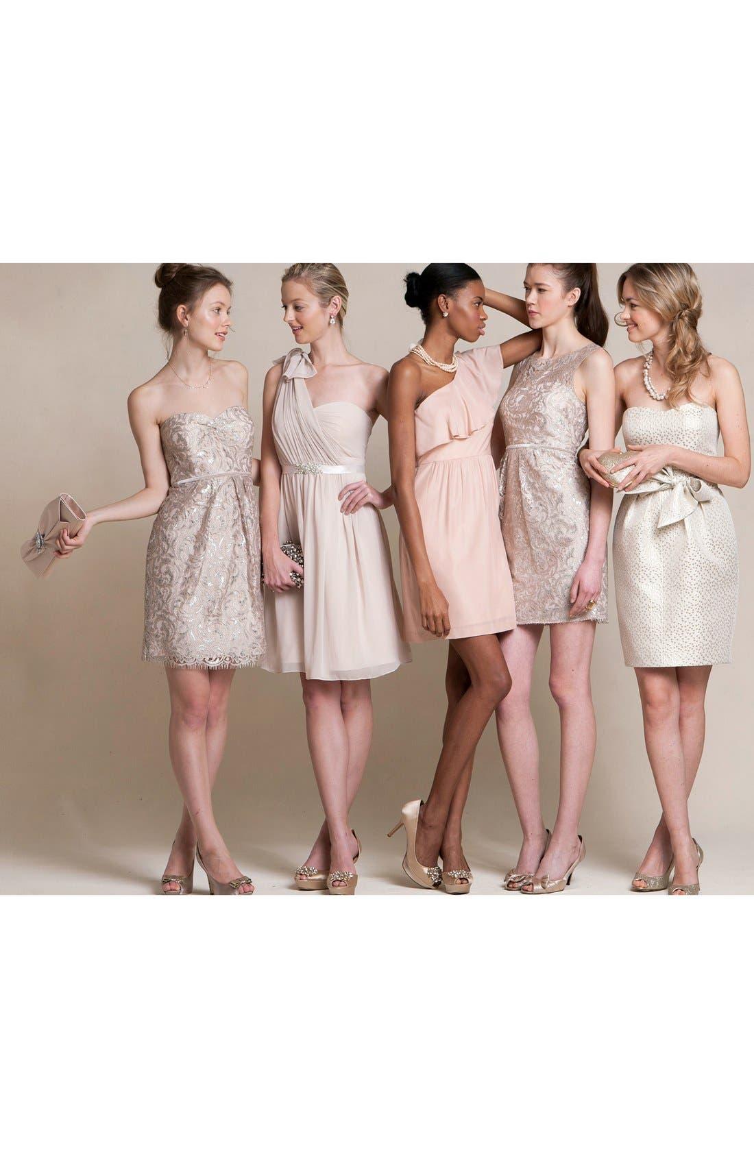 Alternate Image 7  - Jenny Yoo 'Keira' Convertible Strapless Chiffon Dress