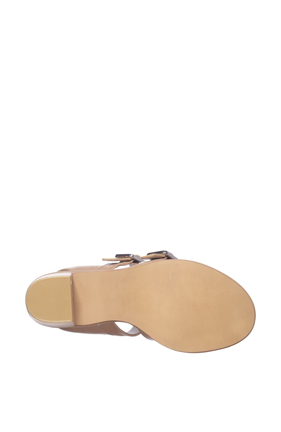 Alternate Image 4  - Topshop 'Nowhere' Mid Heel Sandal