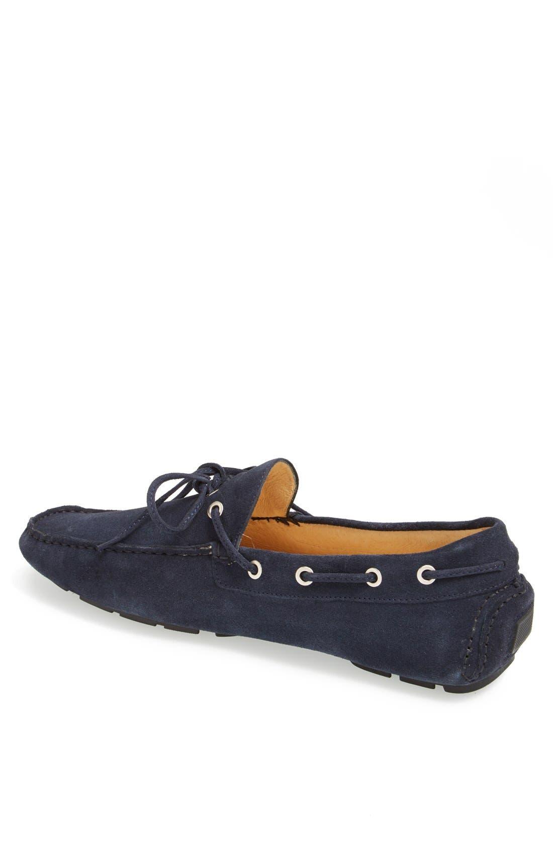 Alternate Image 2  - Boemos Suede Driving Shoe (Men)