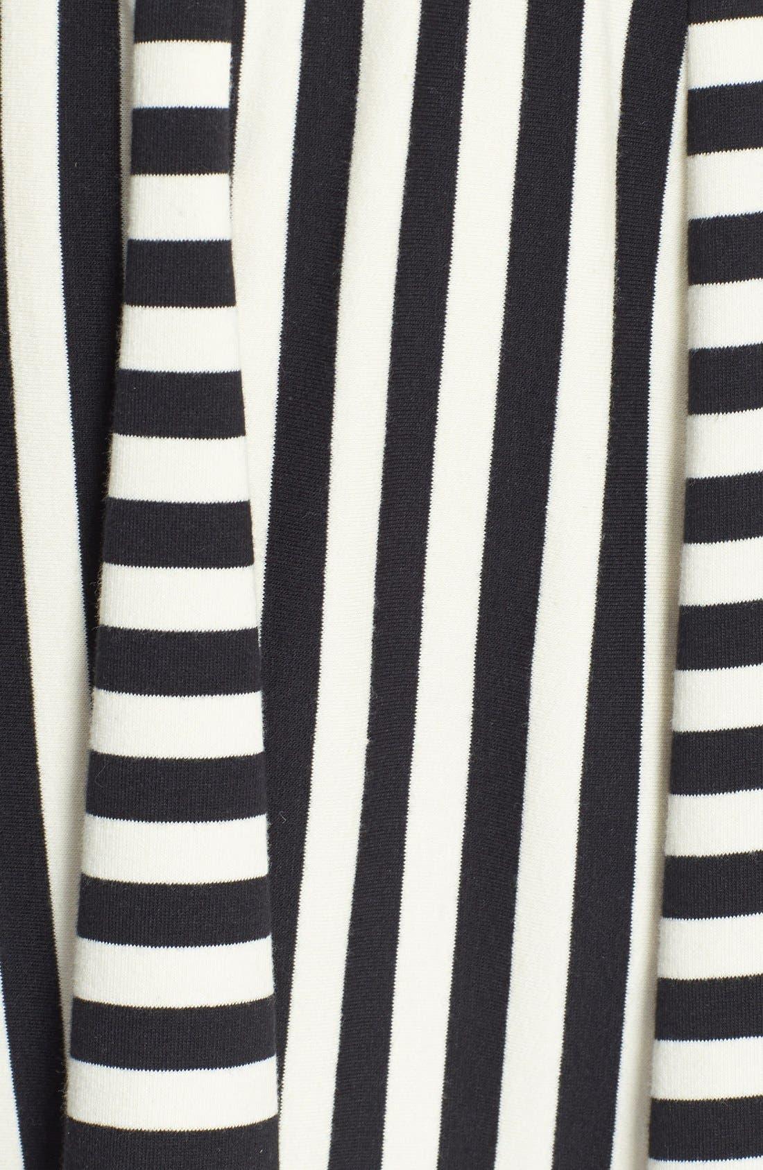 Alternate Image 4  - Eliza J Sleeveless V-Neck Fit & Flare Dress (Petite)