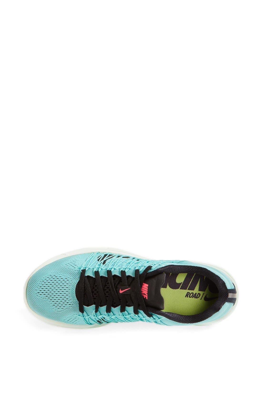 'Lunaracer+ 3' Running Shoe,                             Alternate thumbnail 3, color,                             Hyper Turquoise