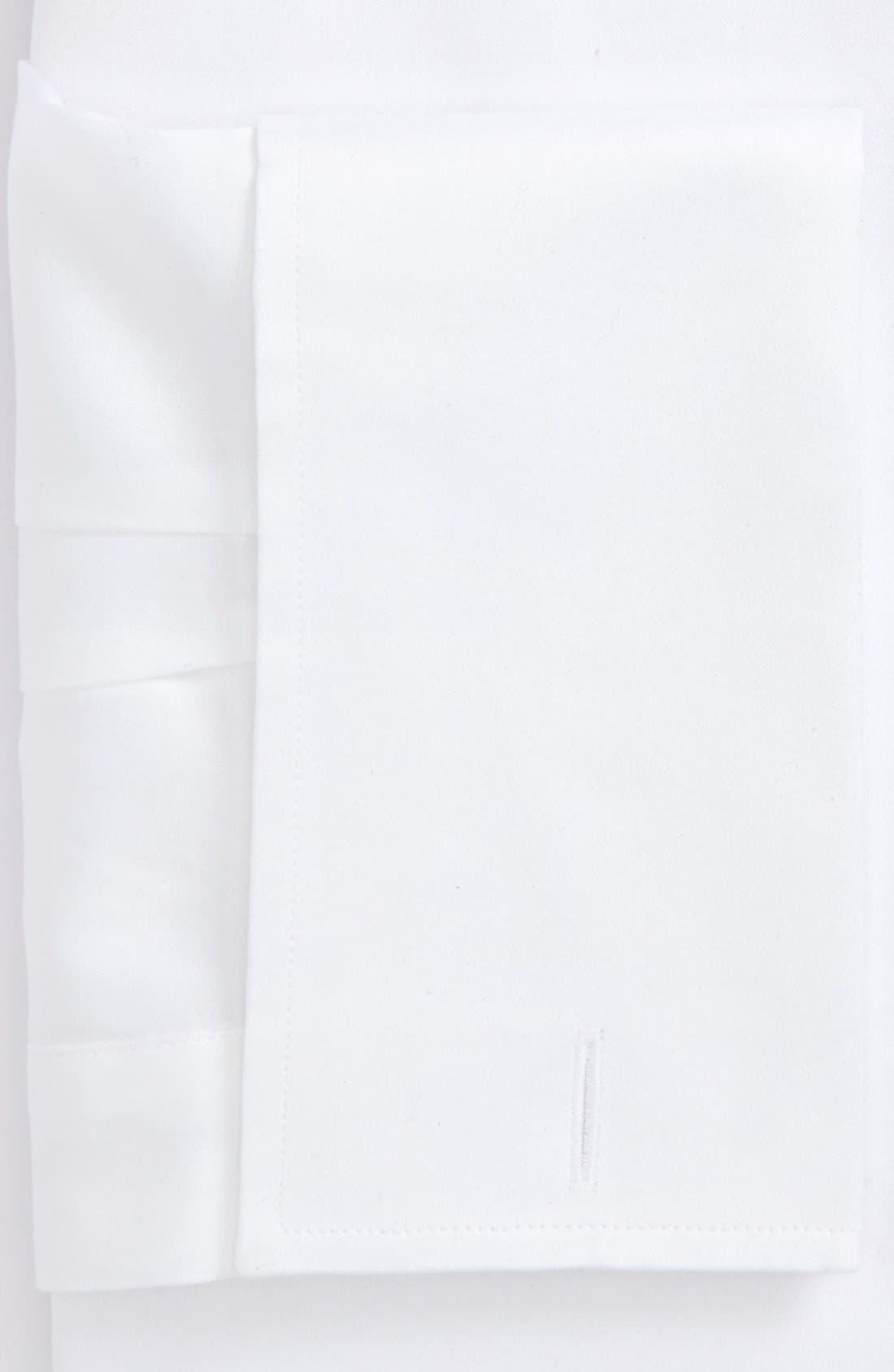 Alternate Image 2  - Ike Behar Regular Fit Solid French Cuff Dress Shirt (Online Only)