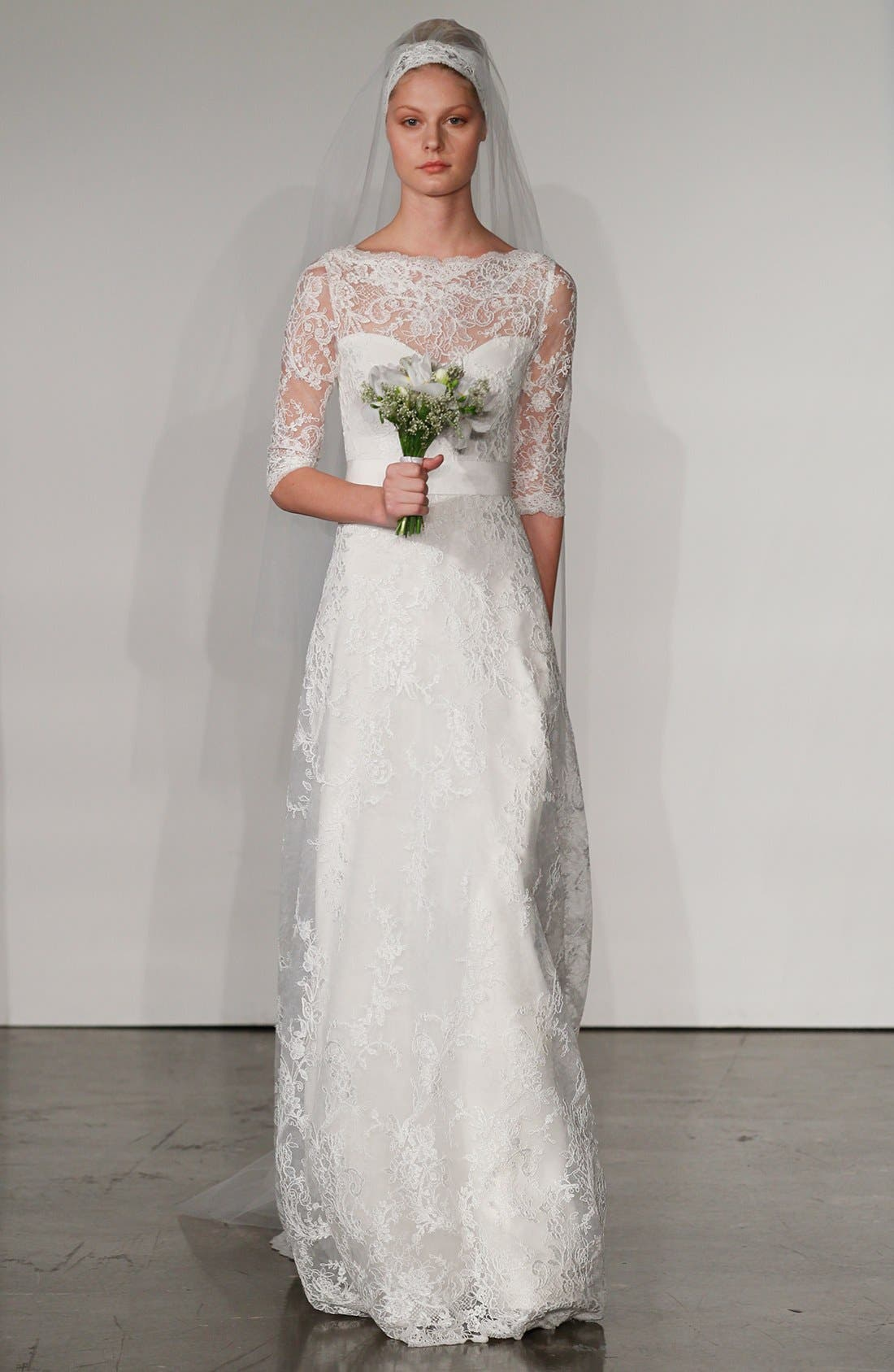 Alternate Image 4  - Marchesa Corded Lace Dress (In Stores Only)