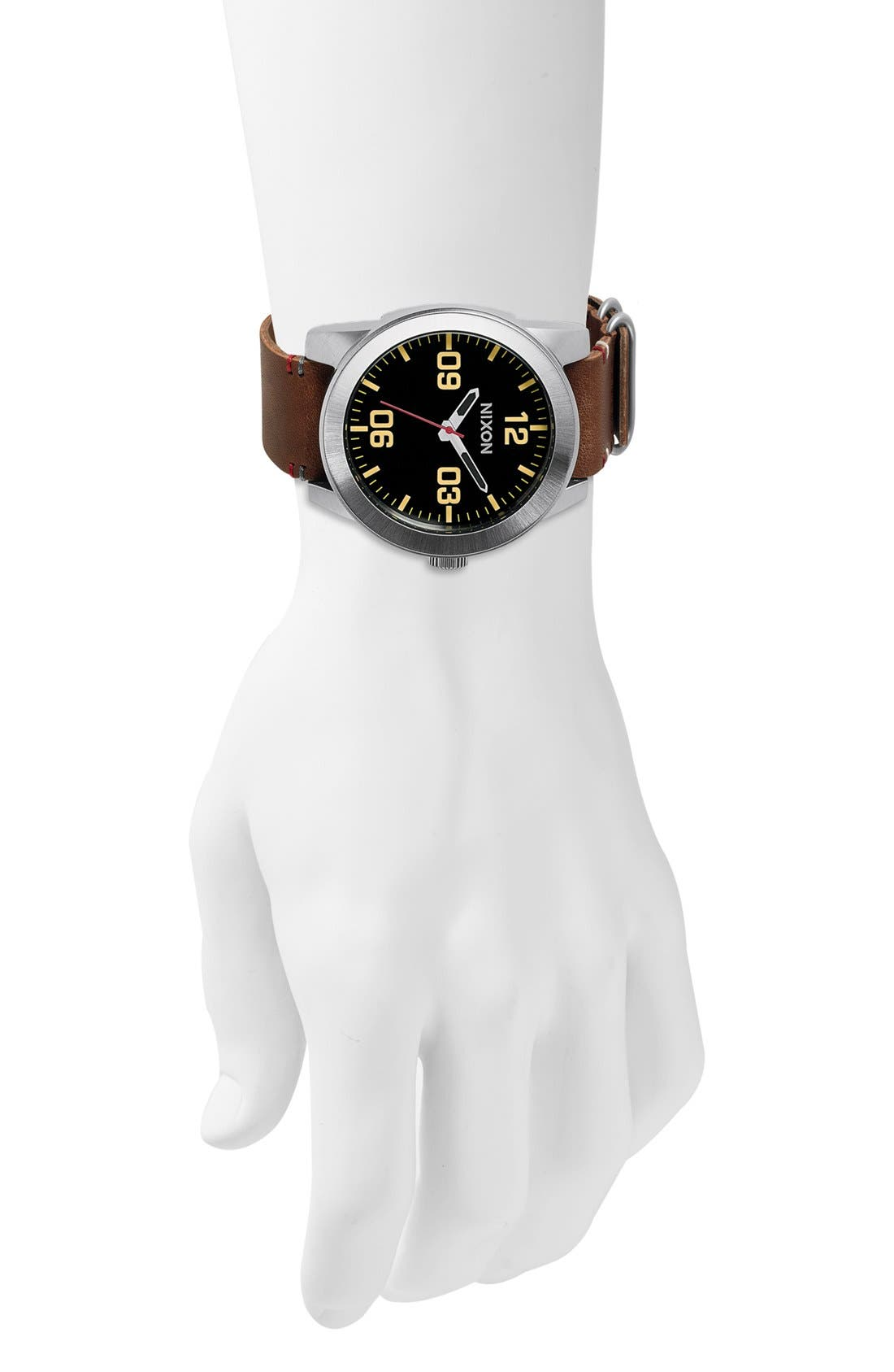 Alternate Image 2  - Nixon 'The Corporal' Watch, 48mm