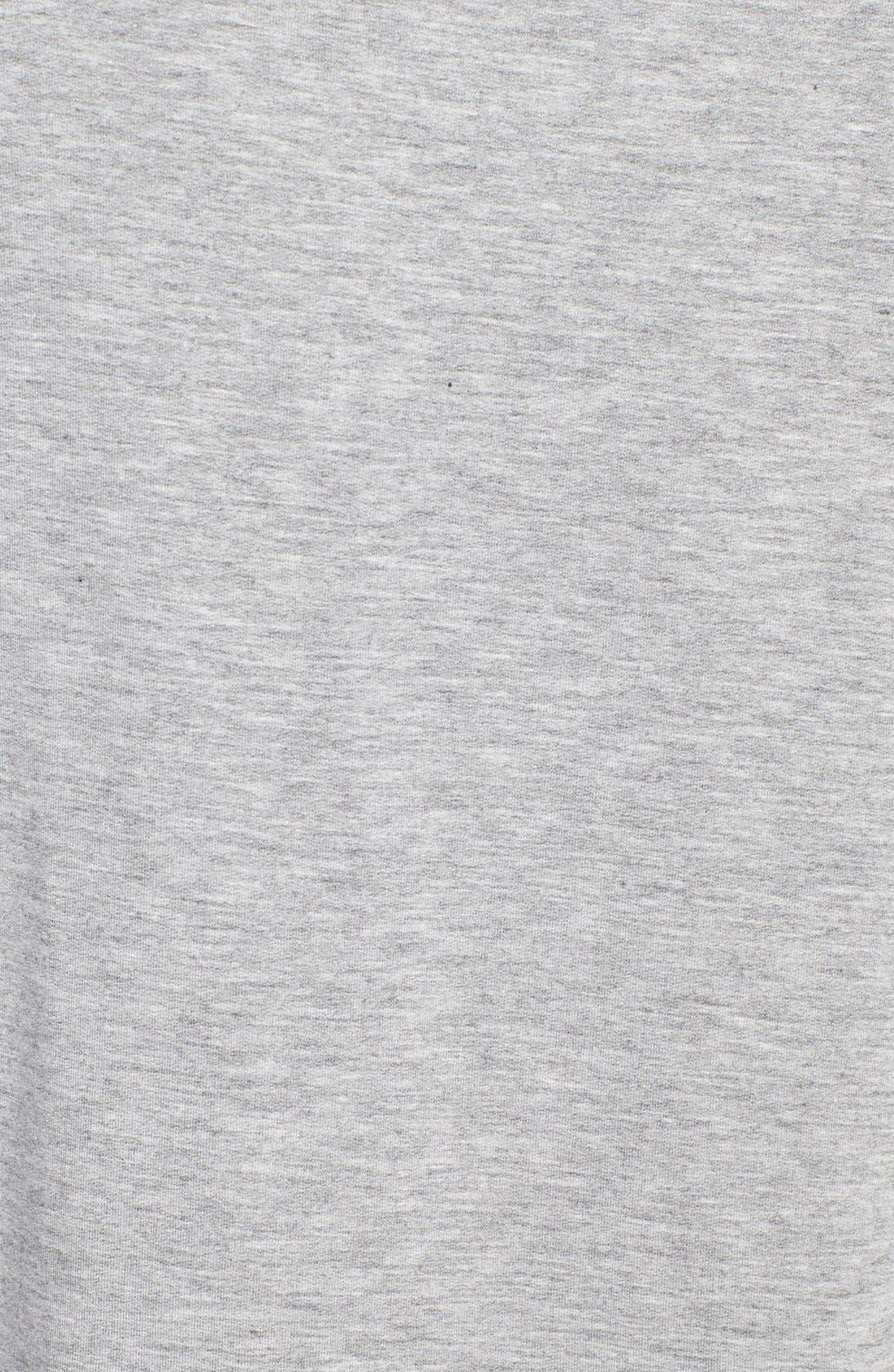 Alternate Image 3  - Haute Hippie 'Lover' Floral Print Sweatshirt