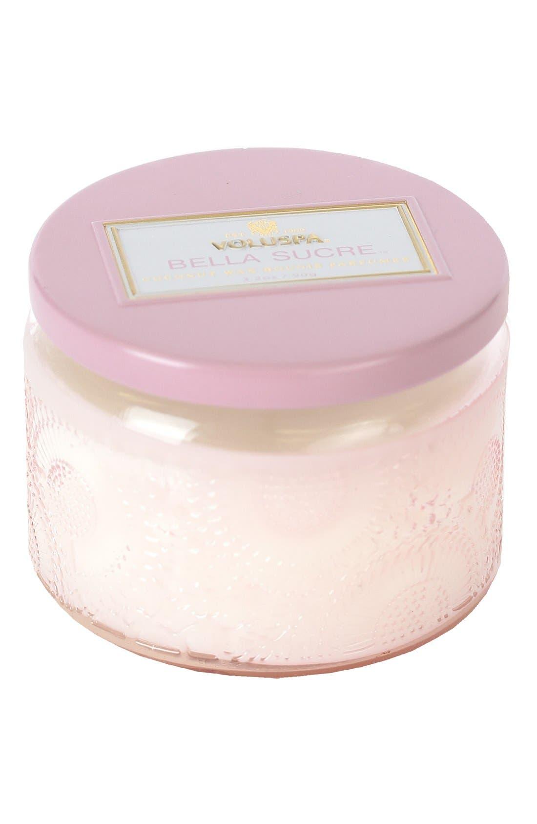 Main Image - Voluspa 'Japonica - Bella Sucre' Petite Colored Jar Candle