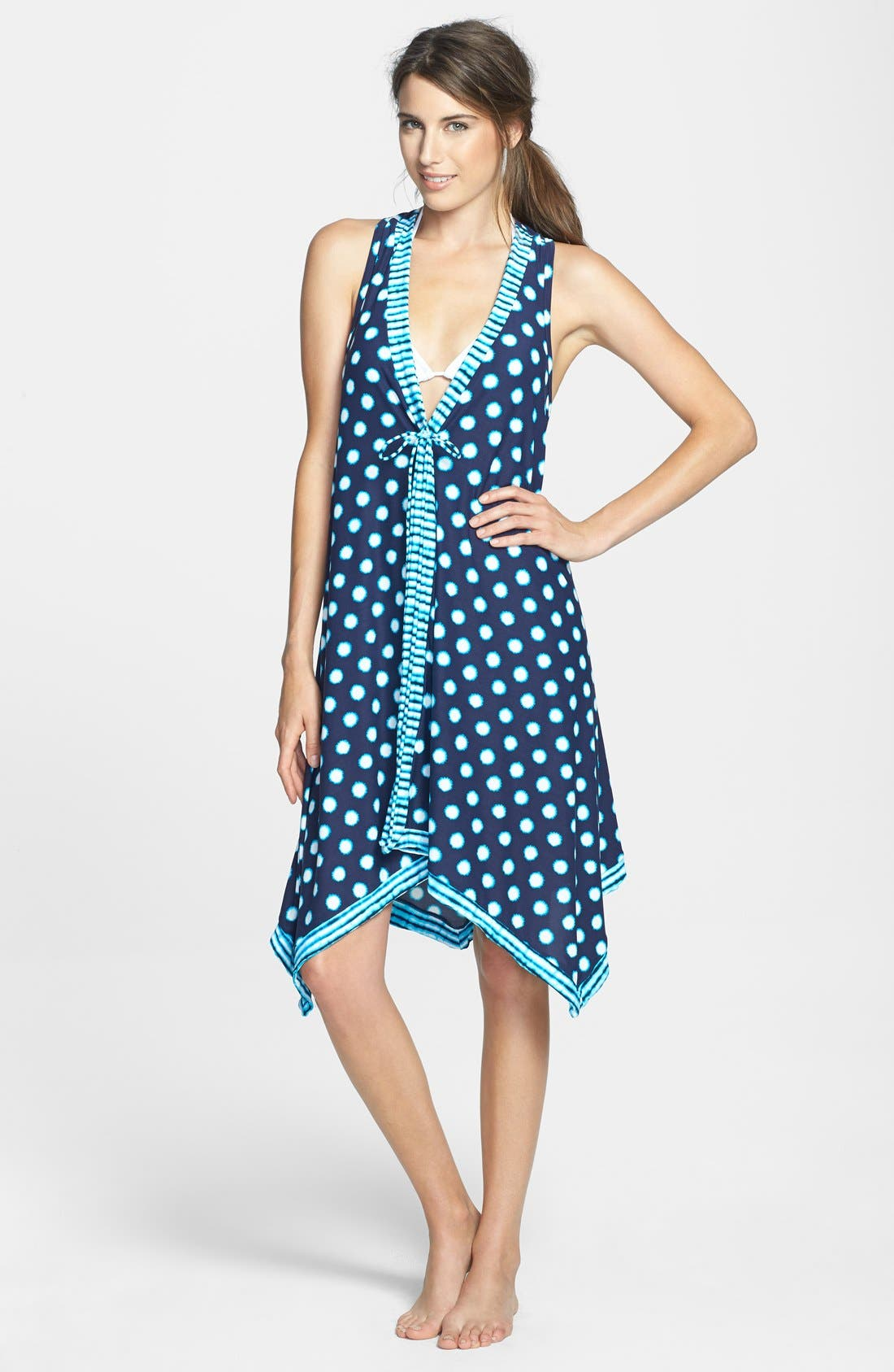 Alternate Image 1 Selected - Coco Reef 'High Tide Mix' Scarf Dress