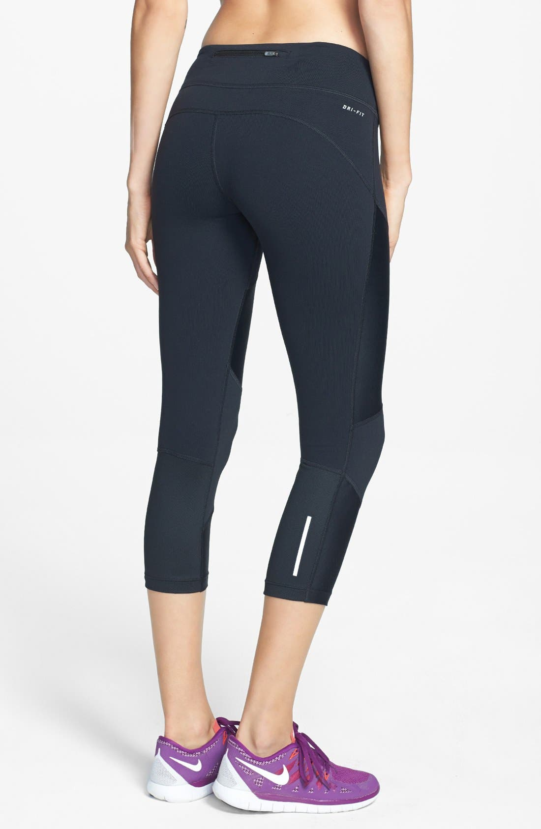 Alternate Image 2  - Nike 'Strut' Dri-FIT Crop Tights