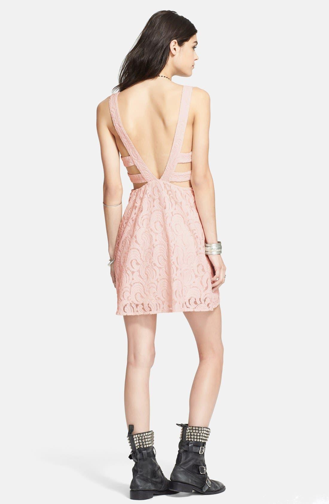 Alternate Image 2  - Free People Cutout Lace Dress