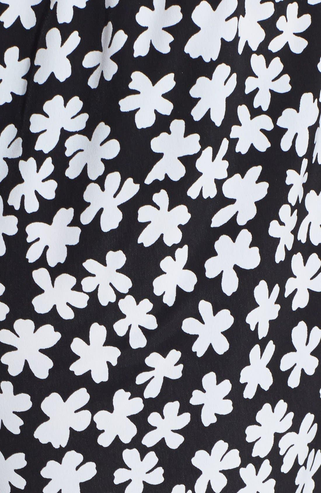 Alternate Image 3  - Soprano Print High Waist Woven Shorts (Juniors)